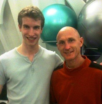 Joe Dimon with Paul Chek