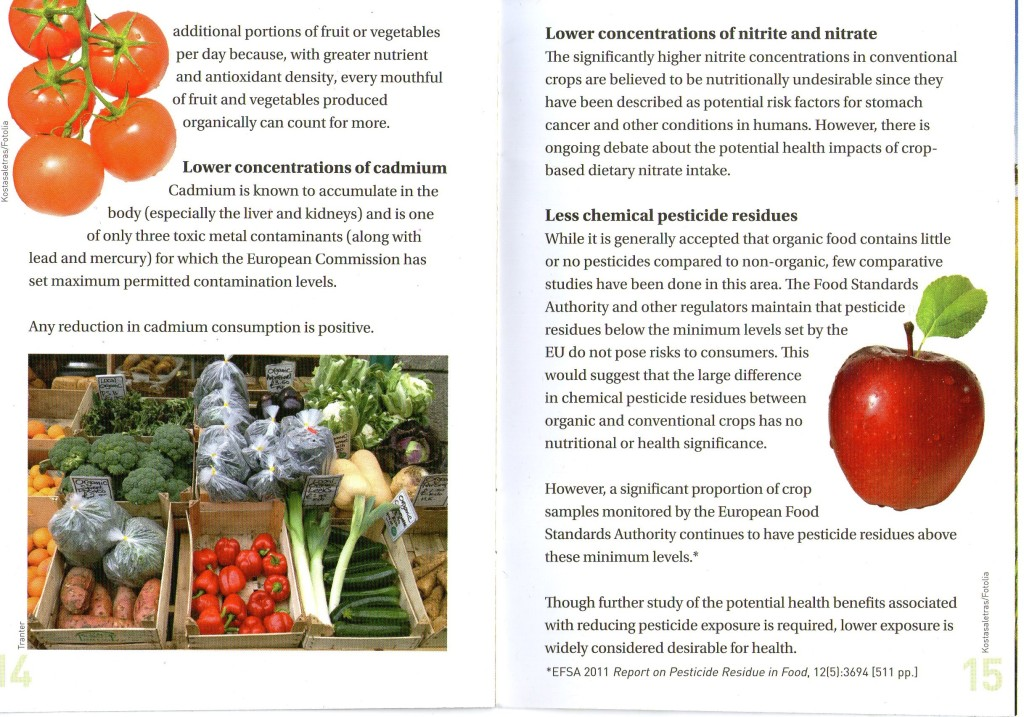 THE DIFFERENCE BETWEEN ORGANIC AND NON-ORGANIC FOOD - PAGE 8