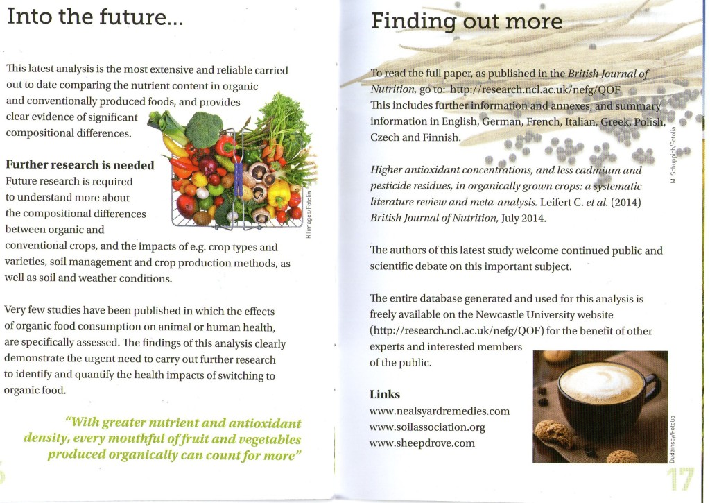 THE DIFFERENCE BETWEEN ORGANIC AND NON-ORGANIC FOOD - PAGE 9