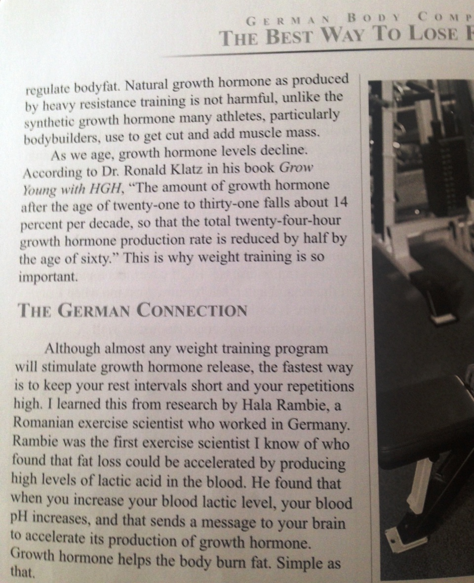 Charles Poliquin's German Body Comp training programme