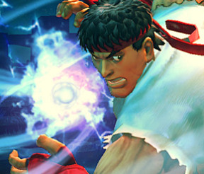 Ultra Street Fighter 4: Ryu game play