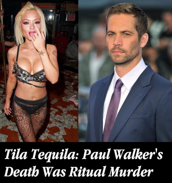 Tila Tequila claimed that Paul Walker's death was 'ritual murder'.