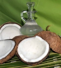 Get lean and reduce your body fat with coconut oil