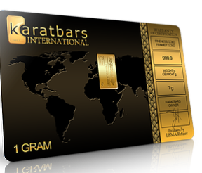 Save gold with Karatbars